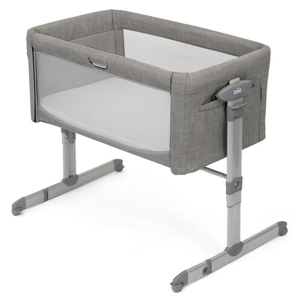 Joie Roomie Glide Co-Sleeper Foggy Grey Cribs P1814AAFGY000