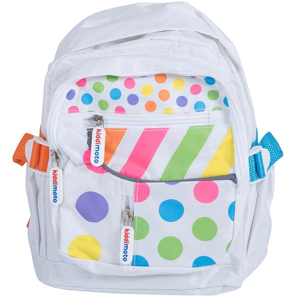 Kiddimoto Back Pack Small Pastel Dotty Changing Bags BPD-S 5060262725191