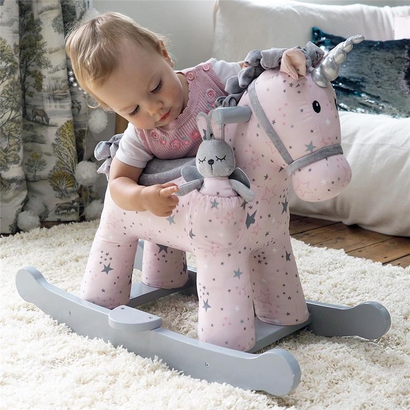 Little Bird Told Me Celeste & Fae Rocking Unicorn 9m+ Rocking Animals LB3074 5060205531933