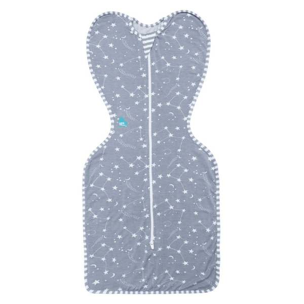 Love to Swaddle Up Bamboo Medium Grey Nightwear LMBA-ME-GY 9343443004015