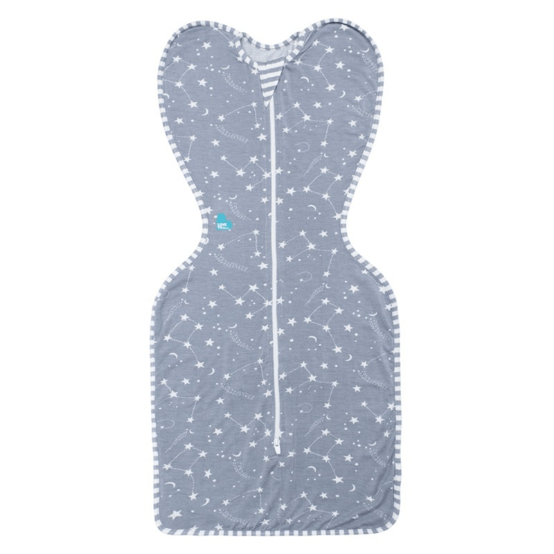 Love to Swaddle Up Bamboo Small Grey Nightwear LMBA-SM-GY 9343443004008