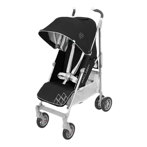Maclaren Techno XT 2018 Pushchair Black/Silver Maclaren Buggies WD1G070092 5010902221088