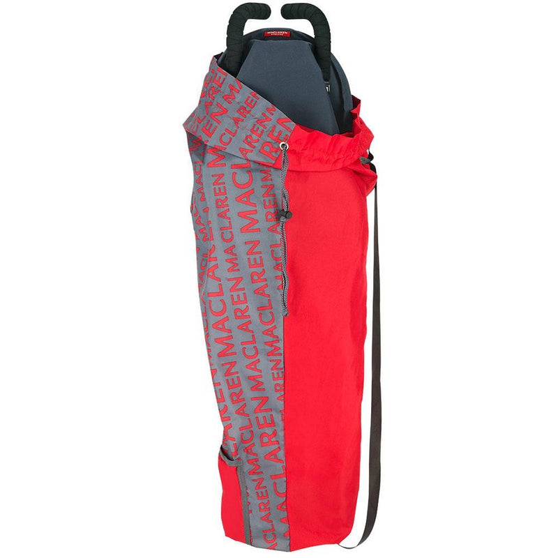 Maclaren Buggy Storage Bag Charcoal Grey/Cardinal Red Pram & Buggy Carry Bags ASE62012 5010902198861