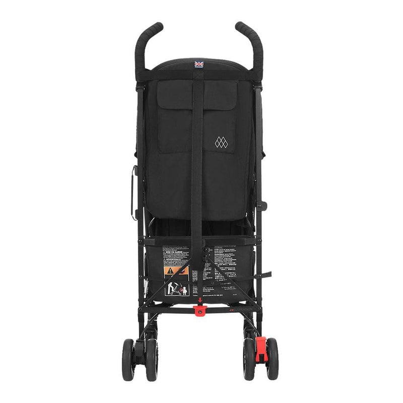 Maclaren Quest Pushchair Black/Black Pushchairs & Buggies WD1G040422 5010902220982
