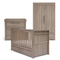 Mamas & Papas Franklin 3 Piece Cotbed Range Grey Wash Nursery Room Sets RAFRX6602 5057232331377