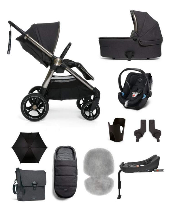 Mamas & Papas Ocarro 10-Piece Complete Kit Onyx Travel Systems 6868W9001 5057232541424