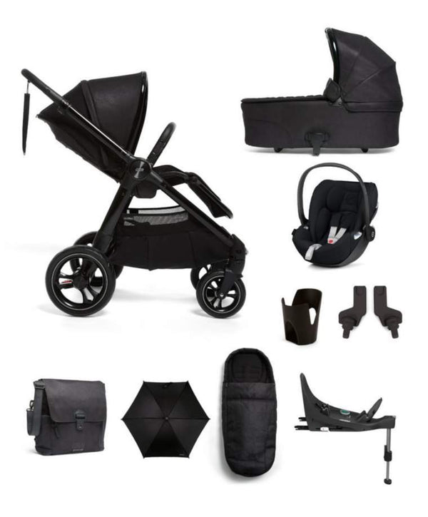 Mamas & Papas Ocarro i-Size 9-Piece Complete Kit Raven Travel Systems 7202-RVN 5057232507208