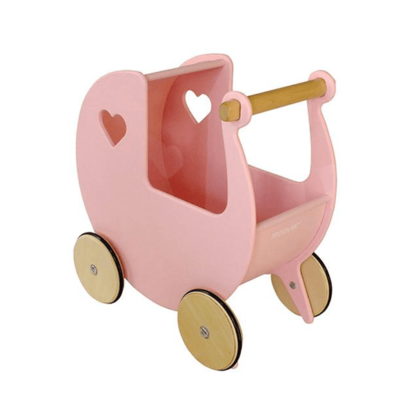 Moover Wooden Dolls Pram Pink Christmas Shop mvpramp 5708062880220