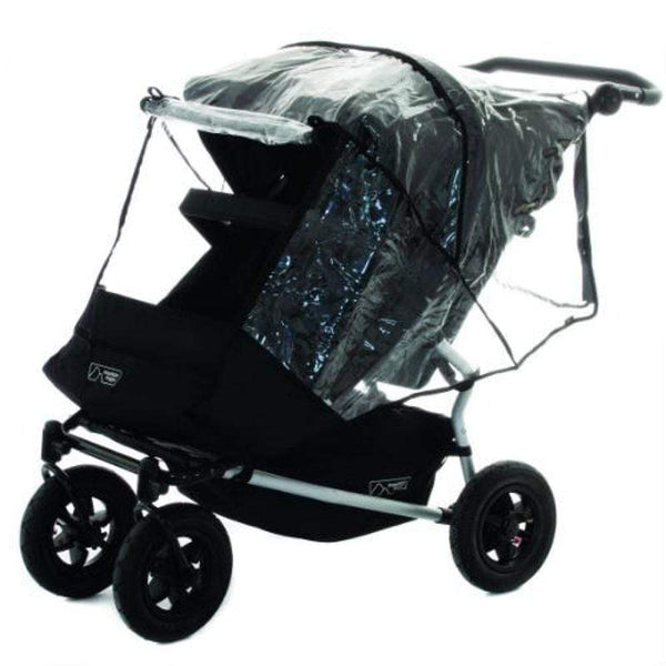 Mountain Buggy Duet v3 Rain & Storm Cover Raincovers & Baskets DUSC2-V3-9999 9420015761825