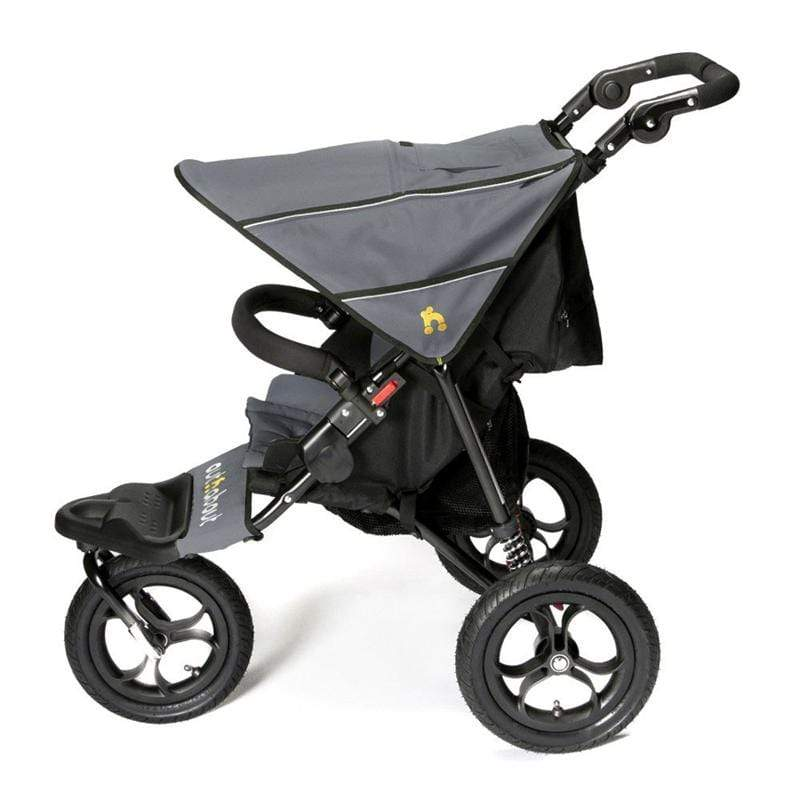 Out n About Nipper V4 Steel Grey/Black 3 Wheelers NIP-01SGV4 5060167545061
