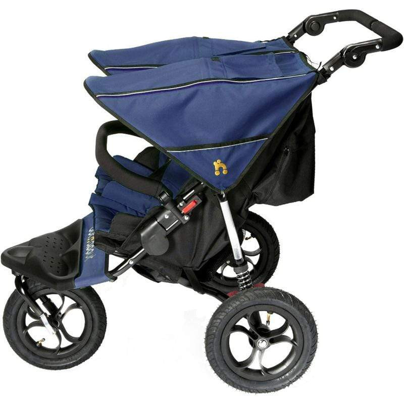 Out n About Nipper V4 Double Buggy Royal Navy Double & Twin Prams NIP-02RNV4 5060167545245