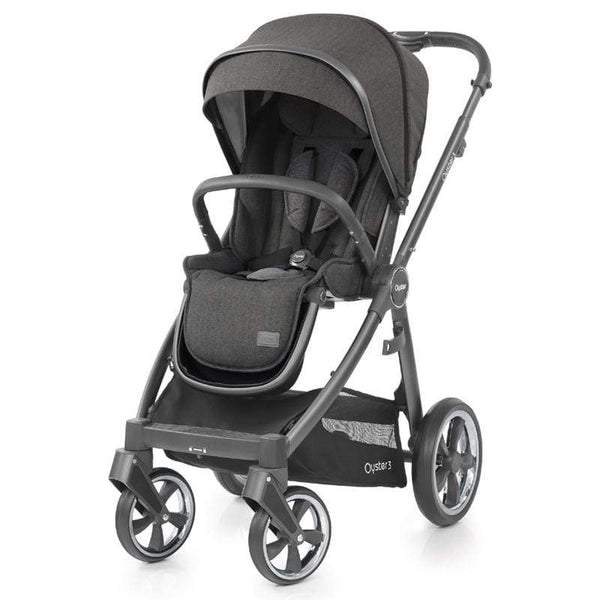 Babystyle Oyster3 Pushchair City Grey/Pepper Pushchairs & Buggies O3CHCIPP 5060541763425