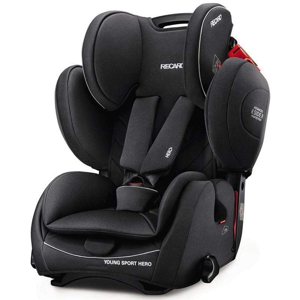 Recaro Young Sport Hero Performance Black Combination Car Seats 6203.21534.66 4031953062353