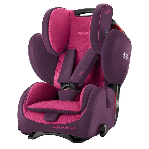 Recaro Young Sport Hero Power Berry Combination Car Seats 6203.21508.66 4031953060960