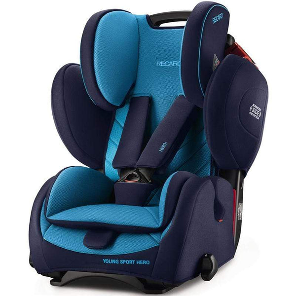 Recaro Young Sport Hero Xenon Blue Combination Car Seats 6203.21504.66 4031953060922