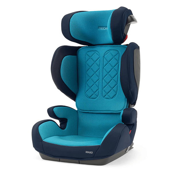Recaro Mako Core Xenon Blue Highback Booster Seats 88044190050 8050038141390