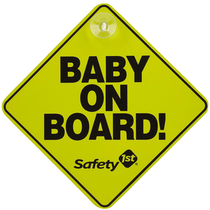 You added <b><u>Safety 1st Baby on Board Car Sign</u></b> to your cart.