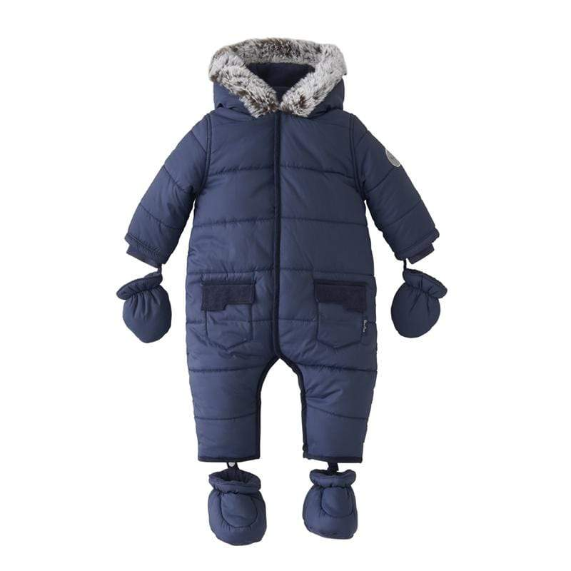 Silver Cross Pramsuit 3-6 Months Navy Coats & Jackets SX7024.02 5055836914651