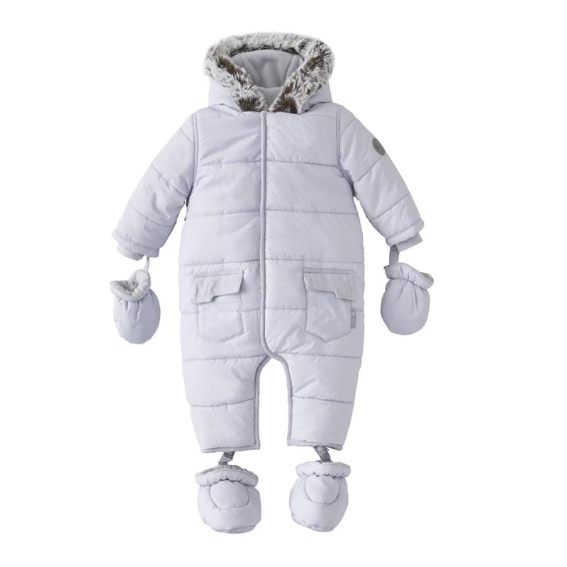 Silver Cross Pramsuit 6-9 Months Grey Coats & Jackets SX7002.03 5055836913586
