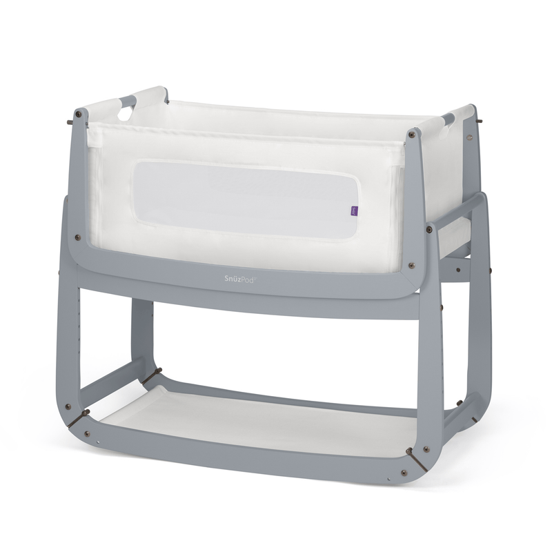 SnuzPod 3 Crib Bundle Dove Grey Cribs 6486-DVE 5060157947493