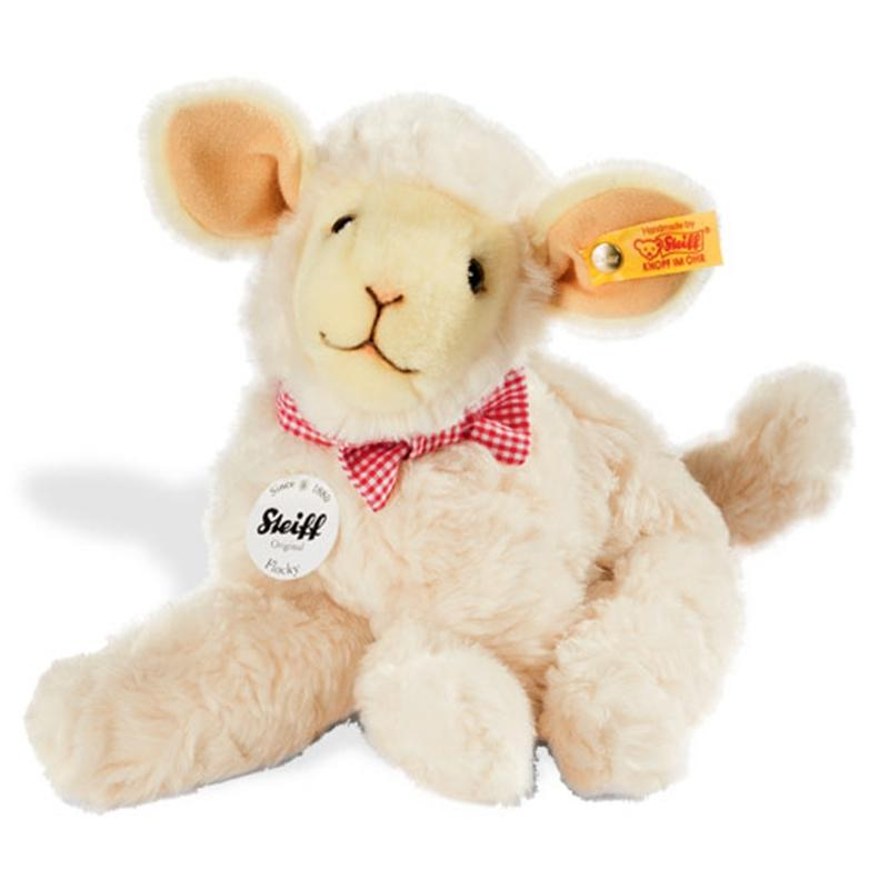 Steiff Flocky Lamb 24cm Cream Soft Animals 103117 4001505103117