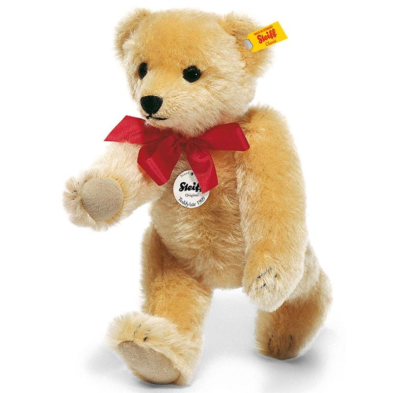 Steiff Classic 1909 Bear 35cm Blond Teddy Bears 379 4001505000379