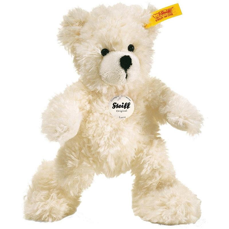 Steiff Lotte Teddy Bear 18cm White Teddy Bears 111365 4001505111365