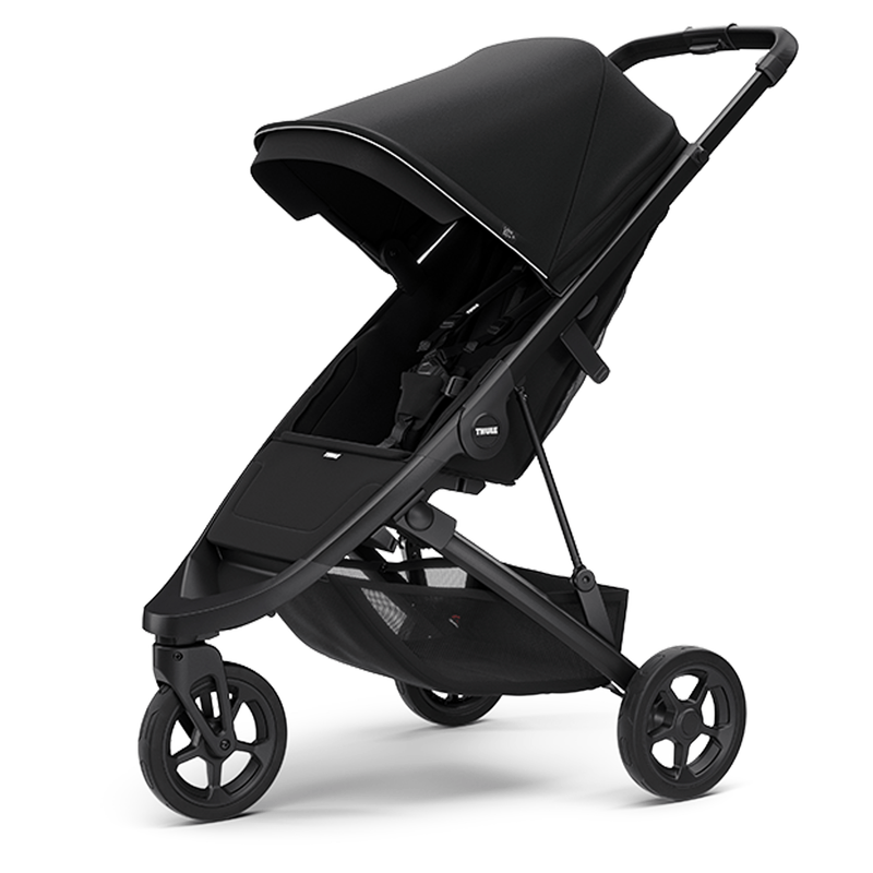Thule Spring Stroller Black/Midnight Black Pushchairs & Buggies THU-SPR-BLA-MID