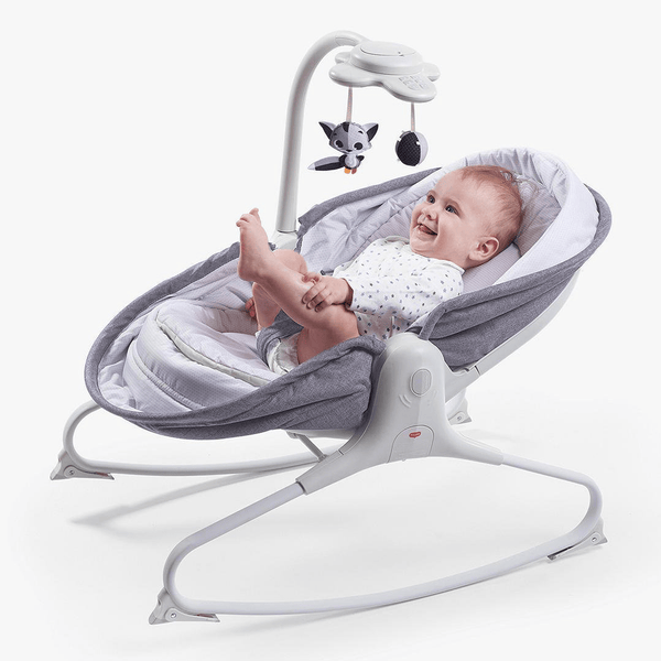 Tiny Love Rocker Napper Grey Rocking Bouncing Cradles 2222180582 7290108862218