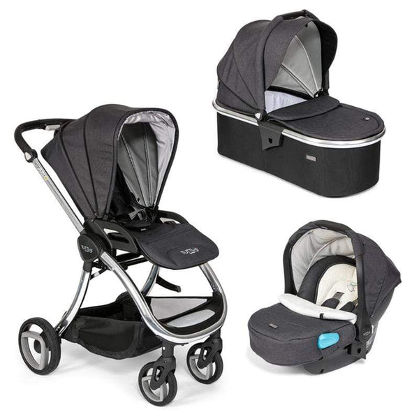 Tutti Bambini Arlo Chrome Travel System Liquorice Travel Systems 411ATS/CH/81 5060335642622