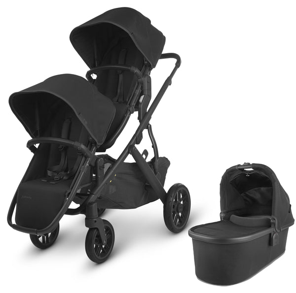 Uppababy Vista V2 Double Pushchair Jake Double & Twin Prams 6238-JKE 0850001436809