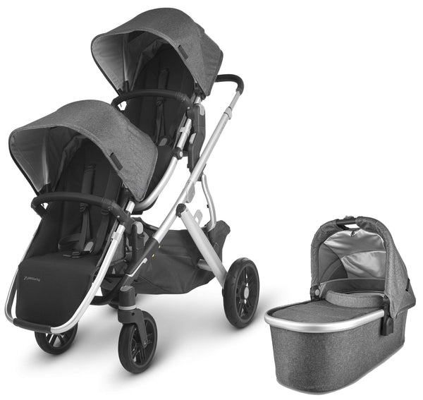 Uppababy Vista V2 Double Pushchair Jordan Double & Twin Prams 6239-JOR 0850001436816