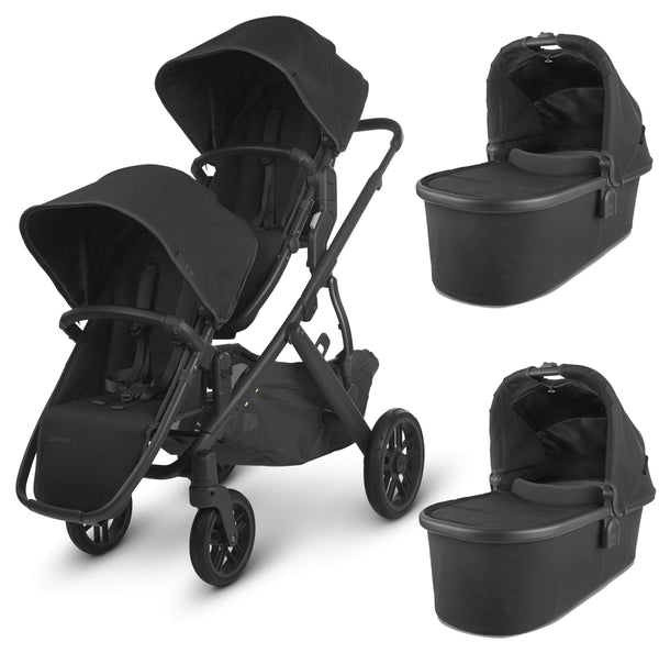 Uppababy Vista V2 Twin Pushchair Jake Double & Twin Prams 6246-JKE 0850001436809