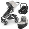UPPAbaby Cruz v2 Pebble Pro Travel System Sierra Travel Systems 6275-SRA 0810030090106
