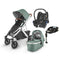 Uppababy Vista V2 Cabriofix & Base Travel System Emmett Travel Systems 6198-EMT 0850001436762