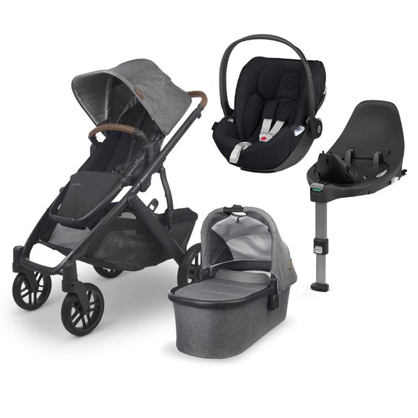 Uppababy Vista V2 Cloud Z & Base Travel System Greyson Travel Systems 8313-GRE 0810030093626