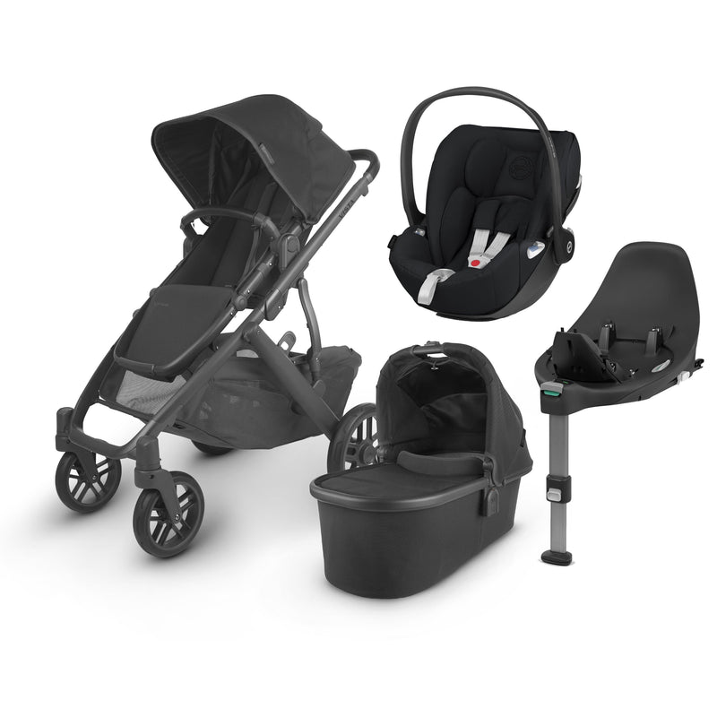Uppababy Vista V2 Cloud Z & Base Travel System Jake Travel Systems 6219-JKE 0850001436809