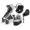 Uppababy Vista V2 Cloud Z & Base Travel System Sierra Travel Systems 6221-SRA 0850001436823