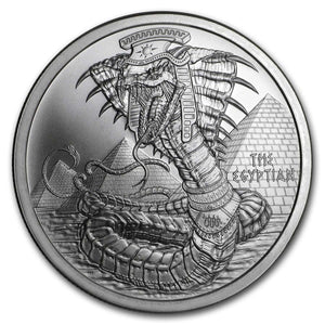 1oz World of Dragons - The Egyptian Dragon Silver Bullion Coin