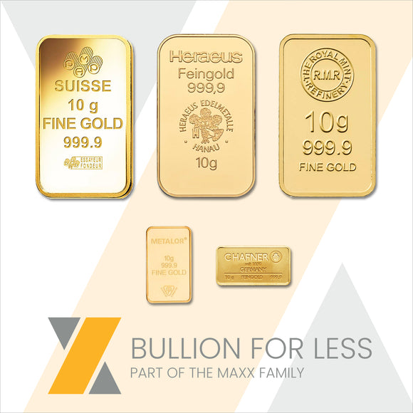 Best Value 10g Gold Bar