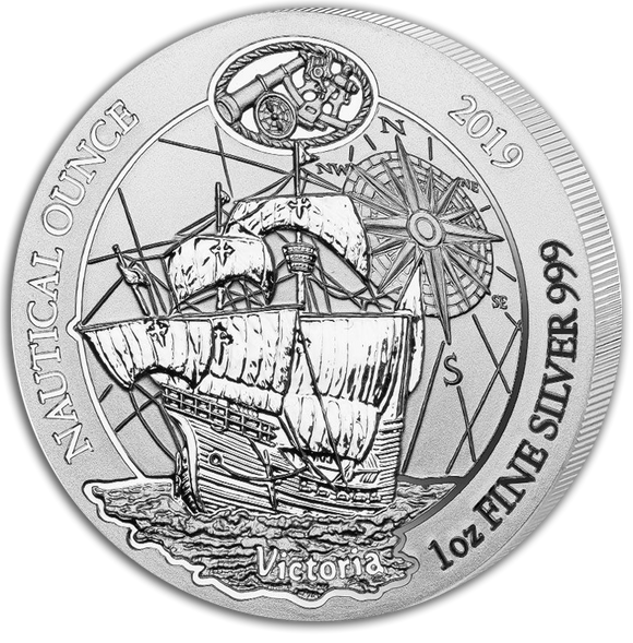 2019 Nautical Ounce 1oz Silver Bullion Coin