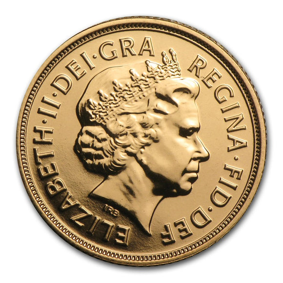 Gold Half Sovereign - Elizabeth II - Fourth Portrait - 1998-2017