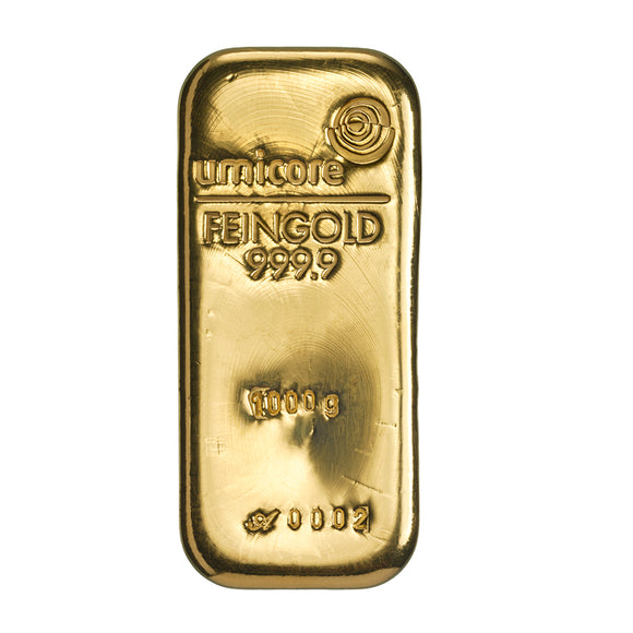 Umicore 1000g Gold Bar
