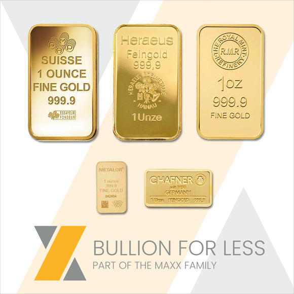 Best Value 1oz Gold Bar