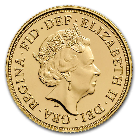 Gold Half Sovereign - Elizabeth II - Fifth Portrait - 2020