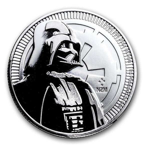 2017 Star Wars Darth Vader - 1oz Silver Bullion Coin