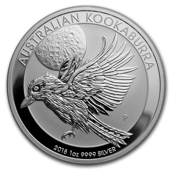 2018 1oz Kookaburra Silver Bullion Coin