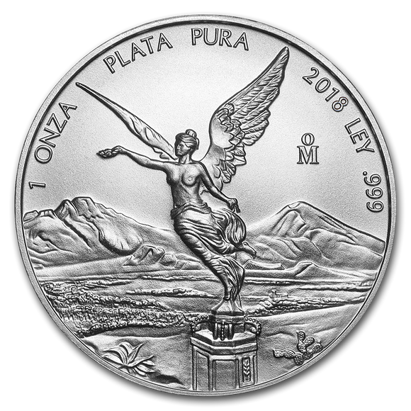 2018 Mexican Libertad 1oz Silver Bullion Coin