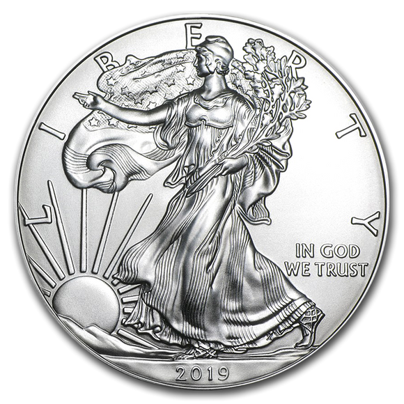 2019 American Eagle 1oz Silver Bullion Coin