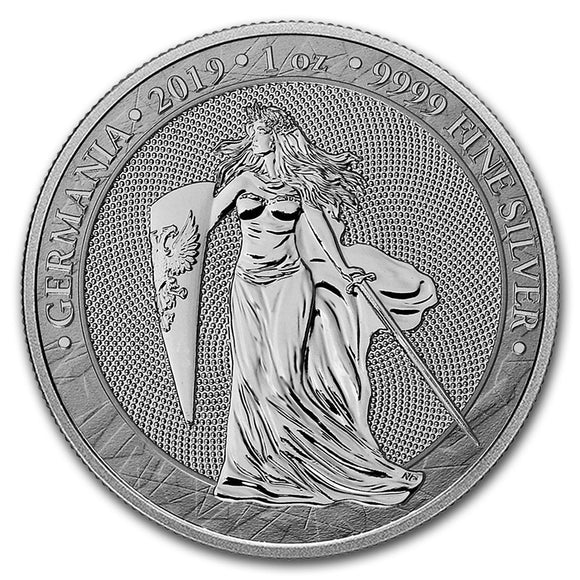 2019 Germania 5 Mark 1oz Silver Bullion Coin